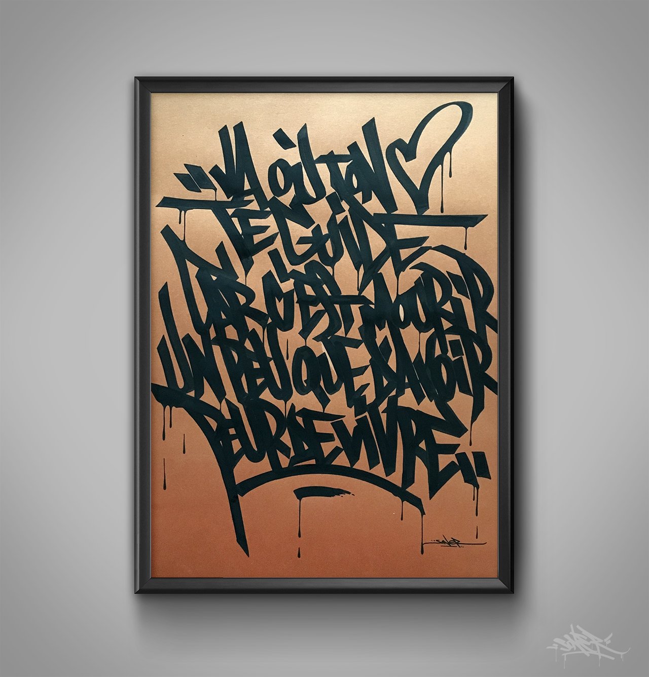 Caligrafitizm projects